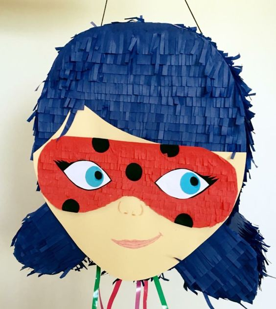Piñata Ladybug #pinataypalo #piñataypalo #handmadepiñata