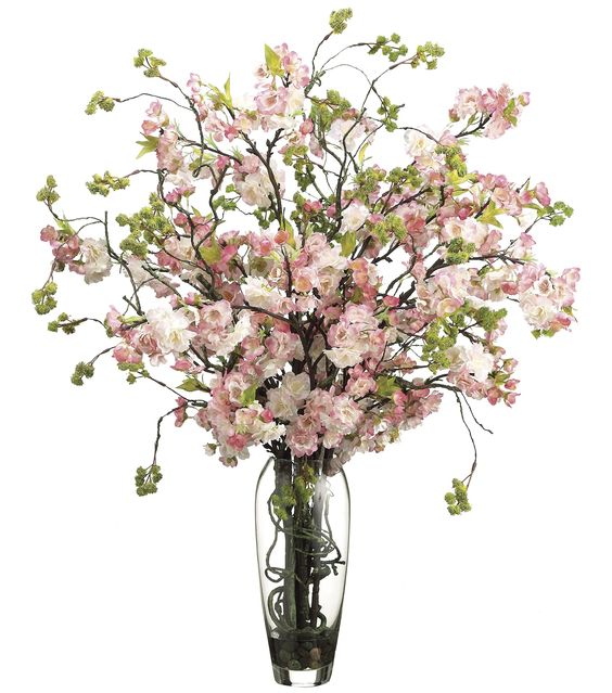 Bloom Room Luxe 35 39 39 Cherry Blossom In Glass Cherry