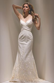 A linen wedding dress! Who&-39-d have thought. I would give anything ...