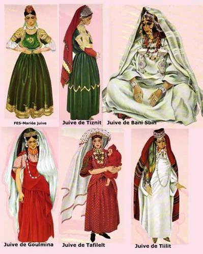 Costumes traditionnels juifs