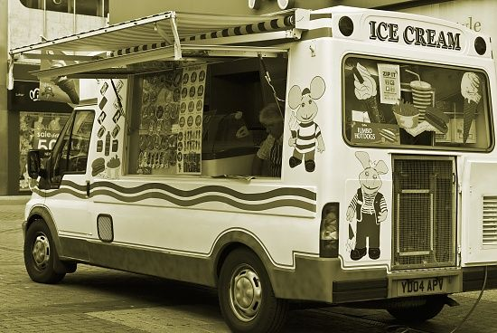 Lonely Ice Cream Van by Glorem · 365 Project