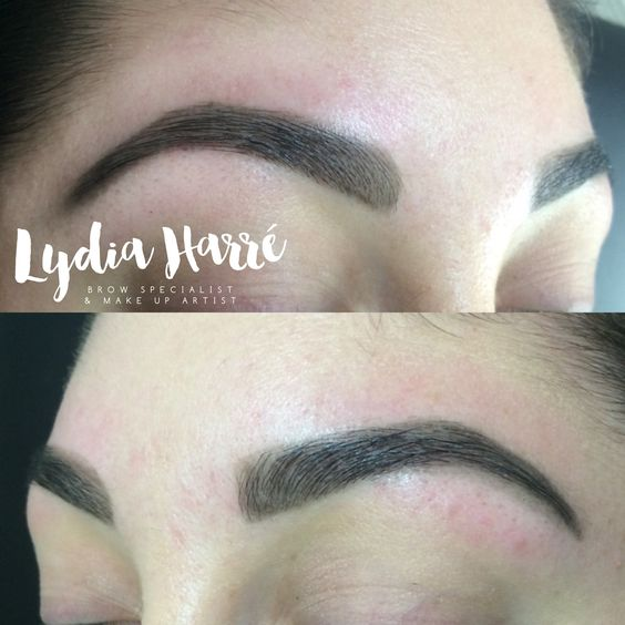 Bespoke Brow Design by Lydia Harré. Let me Wax, Tint & Shape your Brow to Perfection.