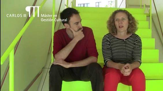 María Acaso y Javier Laporta en el Máster Gestión Cultural de Carlos III...