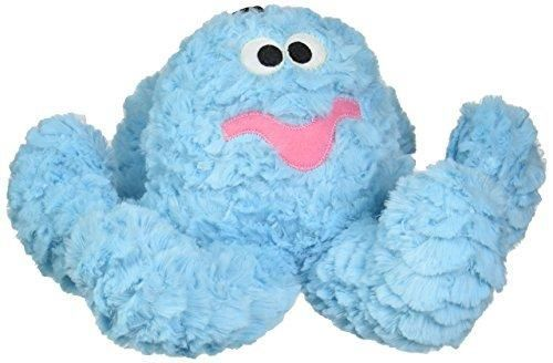 Patchwork Pet Pastel Blue Octopus 15-Inch Squeak Toy for Dogs