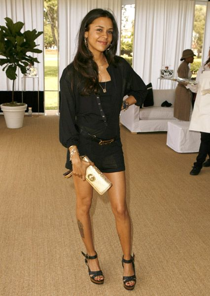 Kidada Jones LEG TATTOO Out FIT Best Insp Pinterest