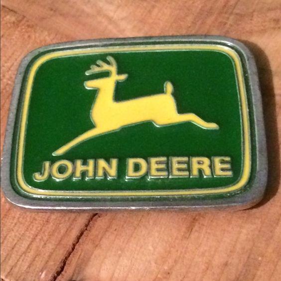 Paul Frank John Deere Belt Buckle John Deere Belt Buckle by Paul Frank John Deere  Accessories Belts