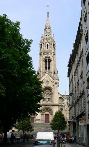Eglise Notre Dame de la Croix de Ménilmontant