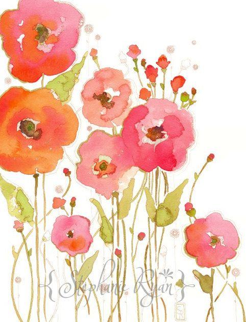 Watercolor Art Print Banded as One ~ Stephanie Ryan Art