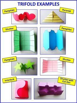 Tipos de acordeones para lapbooks