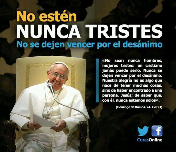 Papa Francisco, inspiración en cada palabra.