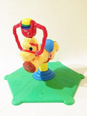 Fisher-Price Laugh & Learn Smart Bounce and Spin Pony (FREE Local Pick up ONLY)