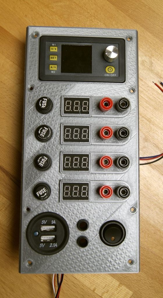 Another Atx Bench Power Supply By Flash24 Thingiverse In 2020 Electronics Projects Diy Electronics Projects Power Supply Circuit