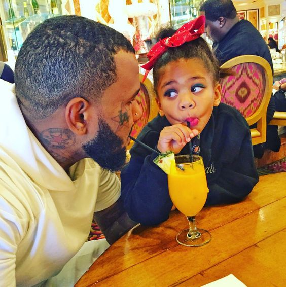The Game [Rapper] Shares Adorable Photo Of Himself And Daughter - xpoinfo