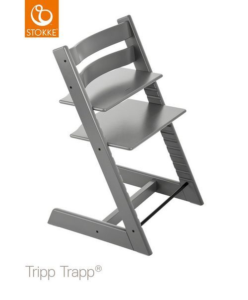 Stokke Tripp Trapp High Chair Storm Grey Hochstuhl Stokke
