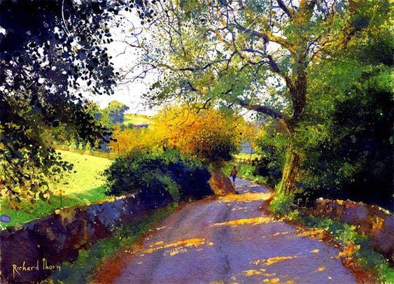 Richard Thorn lovely light and colour