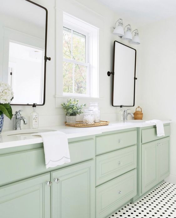 House Tour This Farmhouse Is Like A Ray Of Sunshine Jack And Jill Bathroom Bathroom Inspiration Bathrooms Remodel