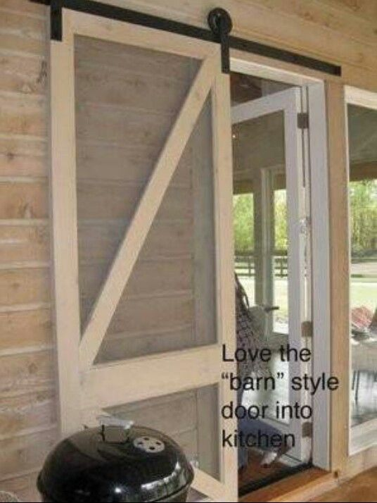 Diy Project Sliding Screen Door From Sunroom To Outside