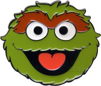 Oscar the grouch face template