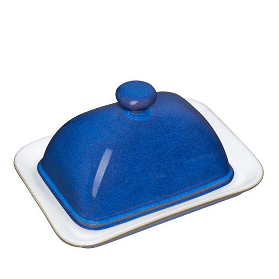 Imperial Blue Butter Dish