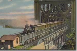 Pont de Quebec vers 1917
