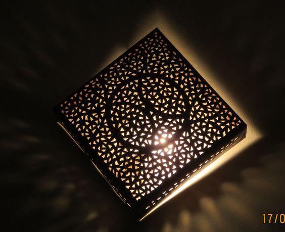 lumière à Dar Sohane, Marrakech