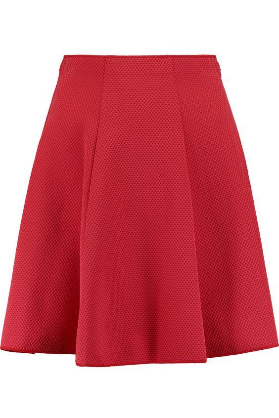MISSONI Pleated Piqué Mini Skirt. #missoni #cloth #skirt
