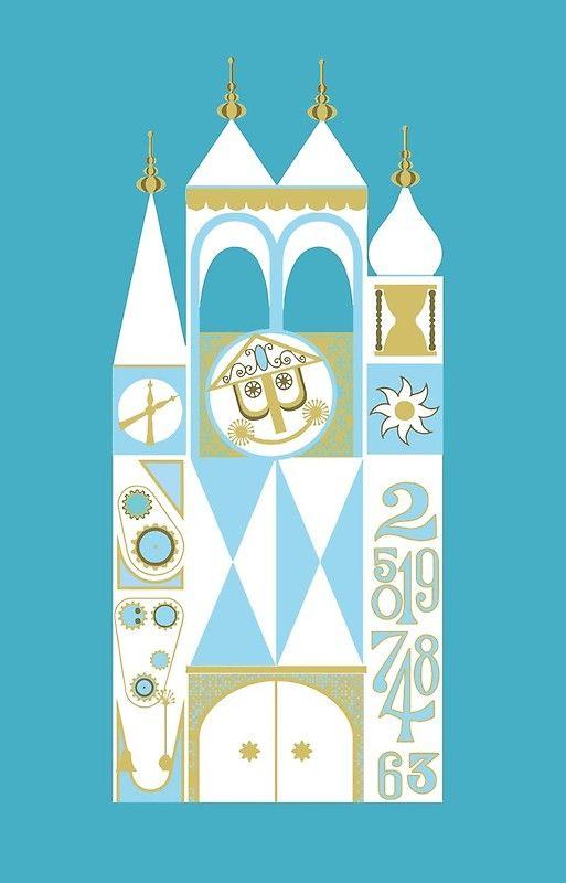 It S A Small World Small World Disneyland Disney Wallpaper