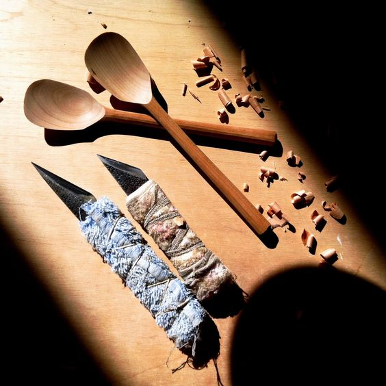 Best Wood for Carving Spoons | spoons. | Wood - Carving Spoons and Bowls | Pinterest