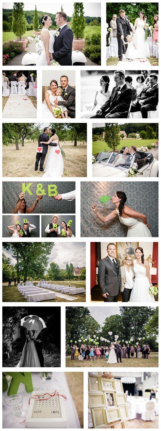 Hochzeitsfotos von Katja & Björn