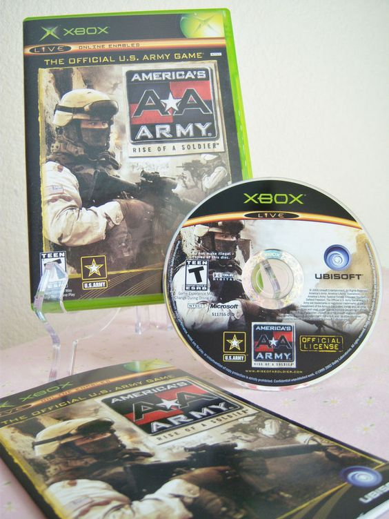 XBOX Game America's Army: Rise of a Soldier Xbox 2005