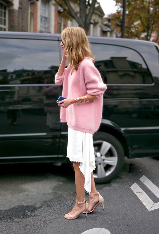 Paris Fashion Week Streetstyle : Mohair Love - www.lelook.eu