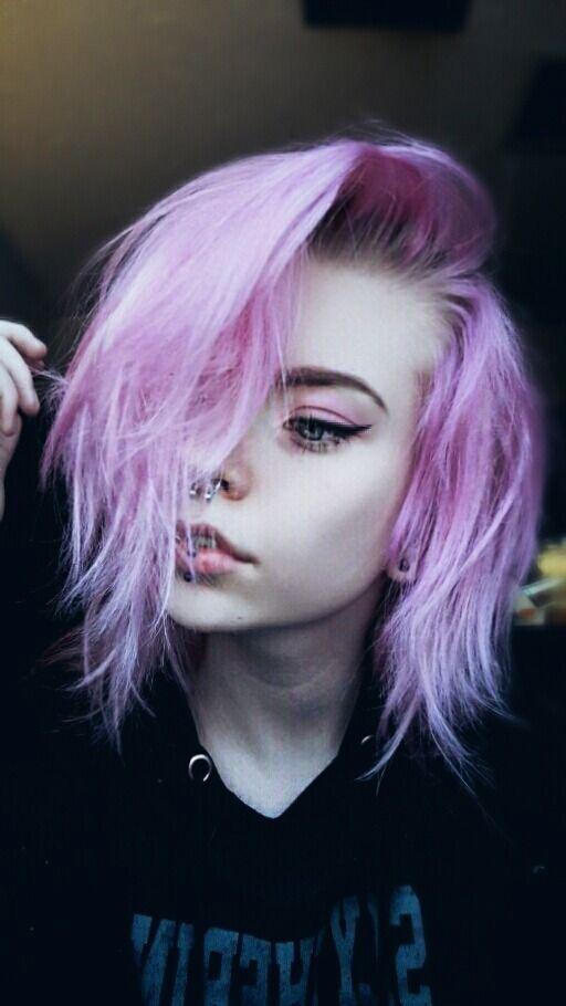 Alternative Girl Hairstyles In 2020 Hair Styles Pastel Hair Alternative Hair