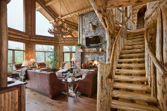 Log Home Photographer - Cabin Images, Log Home Photos, Architecture & Interior Design