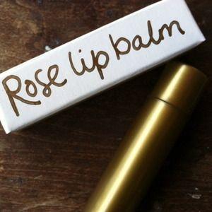 Rose Lip Balm @Katrina Abou-Diab: