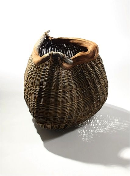 'Swirling Root' by Joe Hogan - Basketmaker (photo by Rory Moore')