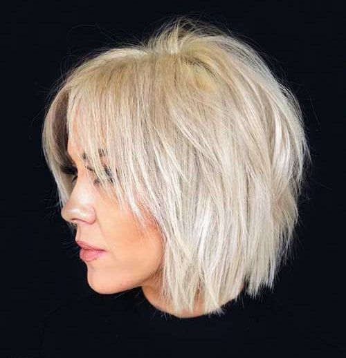 25 Best Pics Of Bob Haircuts For Fine Hair Bob Hairstyles 2018 Short Hairstyles For Women In 2020 Choppy Bob Haircuts Thick Hair Styles Bob Hairstyles