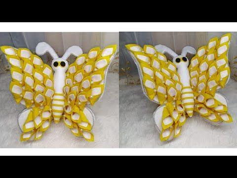 59 Ide Kreatif Cara Membuat Tempat Permen Candy Kupu Kupu Candy Merak Butterfly Youtube Ide Kerajinan Permen Kreatif