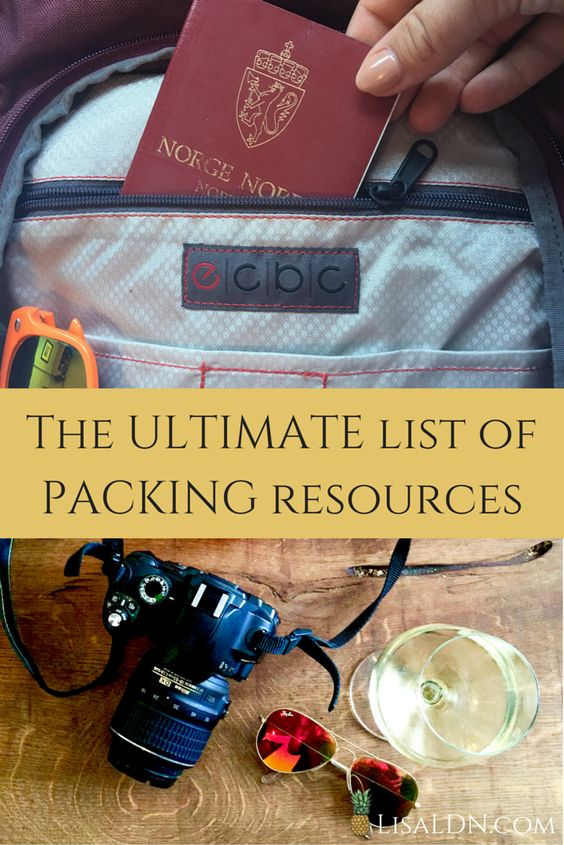 I've put together the ULTIMATE list of packing resources! Here's all you need on how to pack a carry-on only, destination-specific packing lists and tips on how to become a better packer!