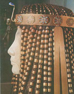 Parrucca femminile antico Egitto