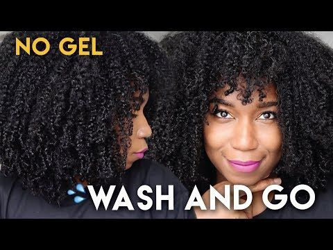 Fluffy Soft Wash And Go Without Gel No Gel Defined Type 4 Natural Hair Youtube Natural Hair Styles Easy Natural Hair Styles Natural Hair Washing