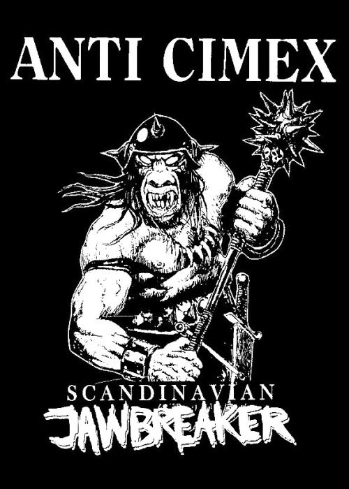 Anti Cimex Scandinavian Jawbreaker Punk Poster Band Scandinavian