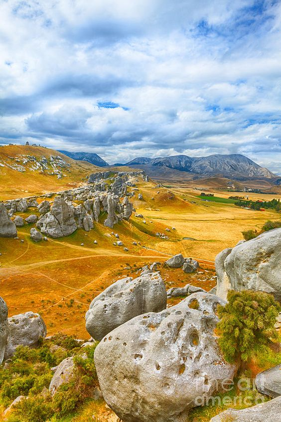 Castle Hill - Southern Alps - Arthurs Pass, New Zealand
