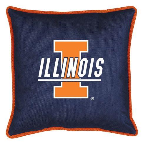 ATHLEZ - Illinois Fighting Illini Sidelines Pillow