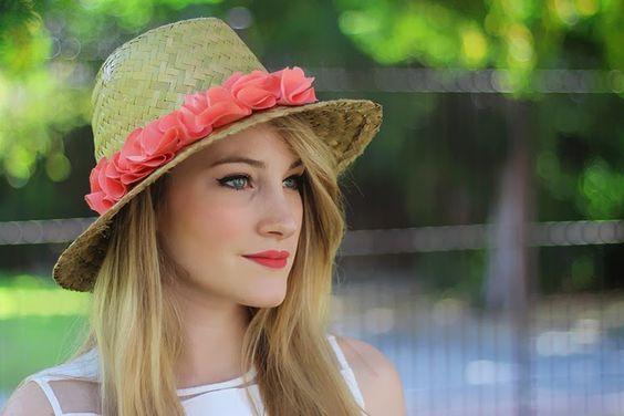 ♥ DIY - Un chapeau pour l'été ♥ - TIBOUDNEZ