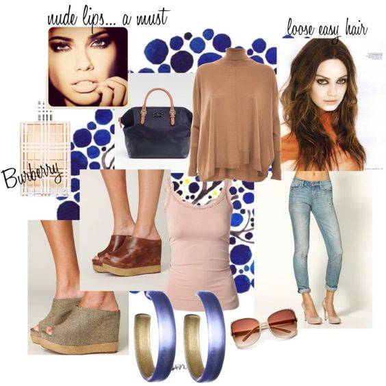 Neutral Simplicity..., created by hotmodesty.polyvore.com