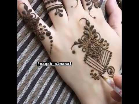 نقش حناء عروس Youtube Alphabet Tattoo Designs Henna Hand Tattoo Mehndi Images