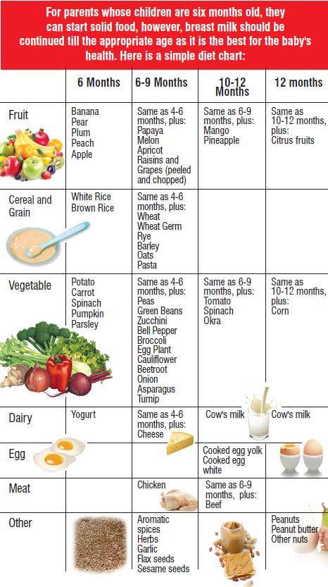 Baby feeding baby food charts baby recipes baby foods baby charts food