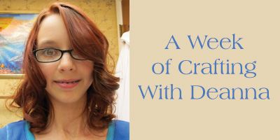 This week I'm going to feature a craft a day for the next 6 days by my crafty neighbor and tell you about how she made it and the inspiration behind it.