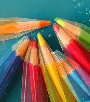 Buntstift - Malen lernen mit Farbstiften, eine Einführung