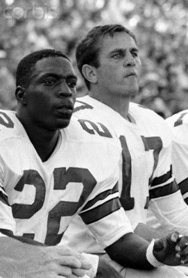 Bob Hayes - Dallas Cowboys famous running looks on from the sideline. He helped build the dynasty as we know it today.